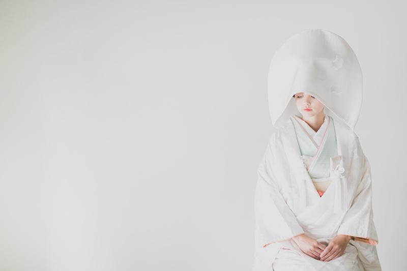 白無垢×綿帽子