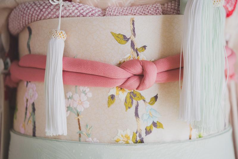 結婚式の和装小物:帯まわり