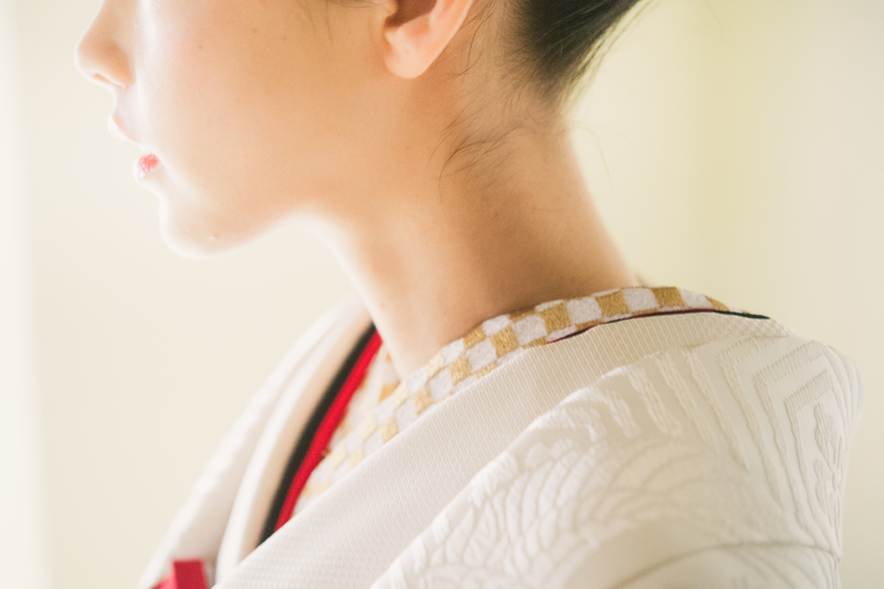 結婚式の和装小物:半襟と伊達襟