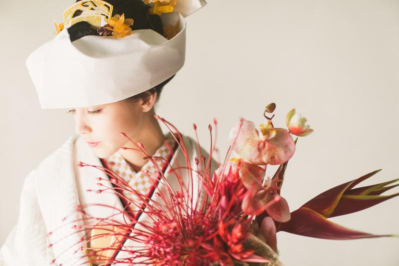 秋冬挙式の花嫁さまへ。秋冬コーディネートの白無垢・色打掛をご提案します