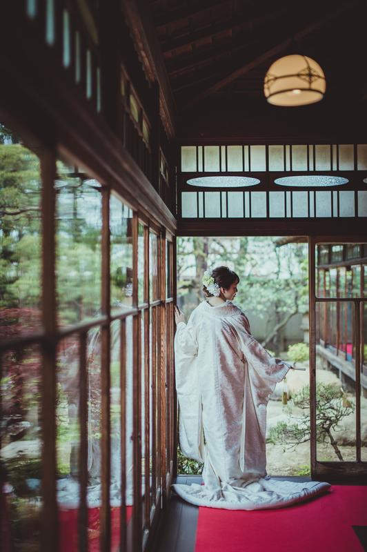 CUCURUのフォトプランで前撮りされた先輩花嫁さま