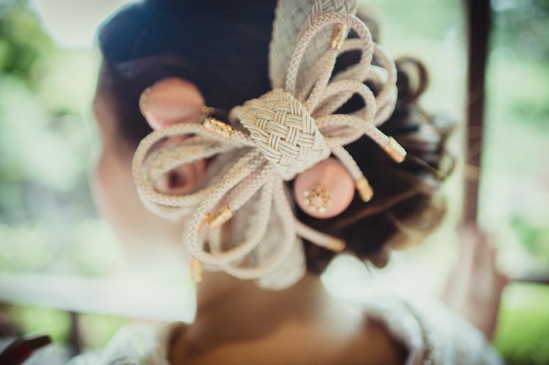 CUCURUフォトプランでロケーション撮影をされた和装花嫁さまをご紹介(白無垢)