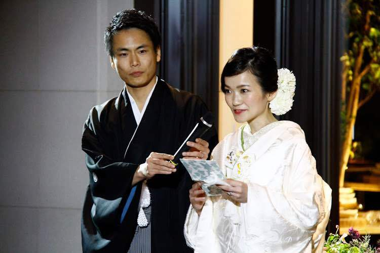 白無垢で挙式をされた先輩花嫁さま