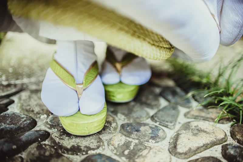 白無垢でロケーション撮影をされたCUCURUの和装花嫁さまをご紹介いたします。