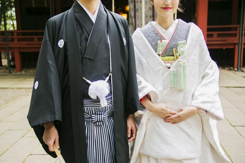 赤坂氷川神社でお式をされたCUCURUの和装花嫁さまをご紹介いたします(白無垢)