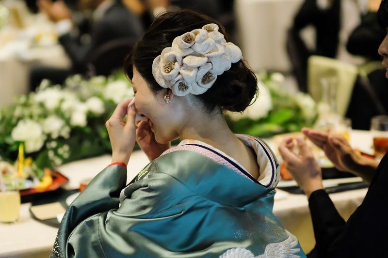 有栖川清水で白無垢、色打掛をお召しになった先輩花嫁さまをご紹介