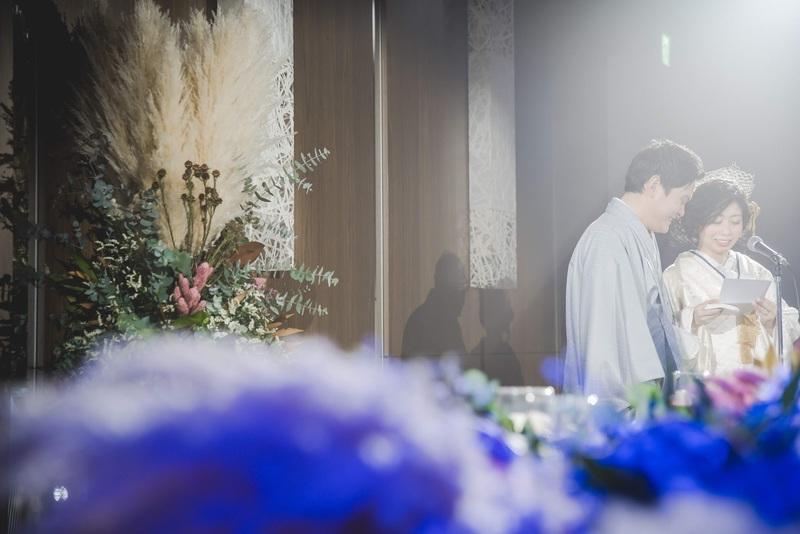 CUCURUの白無垢でグランドハイアット東京でのお式をされた先輩花嫁さま