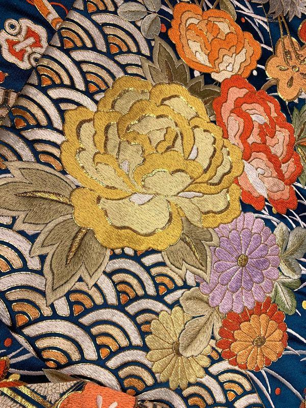 花嫁着物の伝統紋様