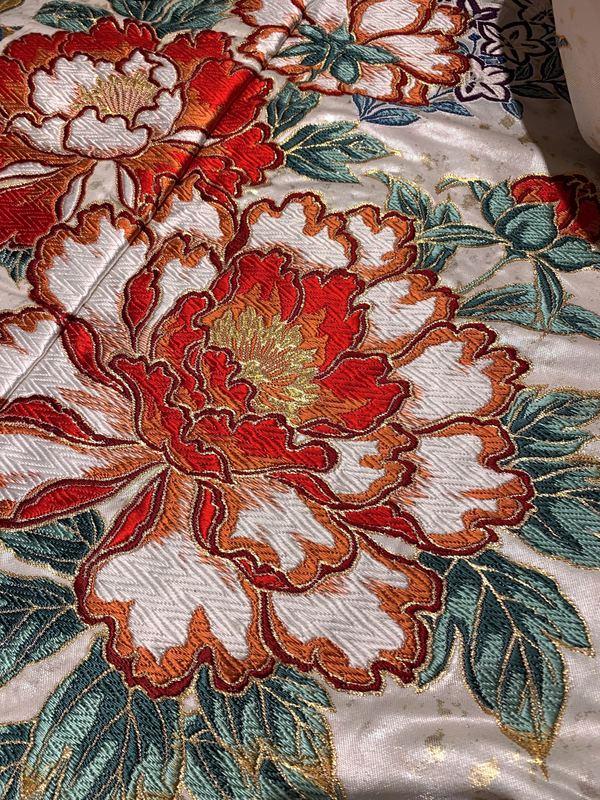 花丸紋。花嫁着物の伝統紋様