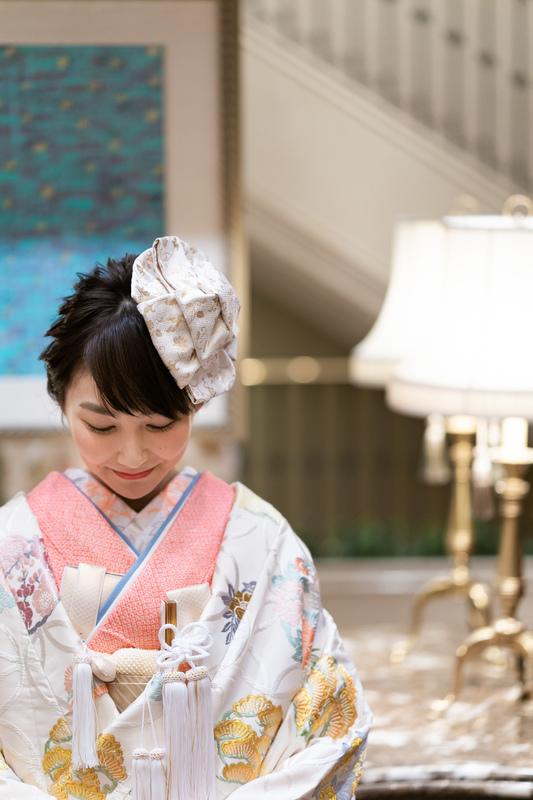 ホテル日航福岡でお式をされた和装花嫁さまをご紹介いたします(白無垢・色打掛)