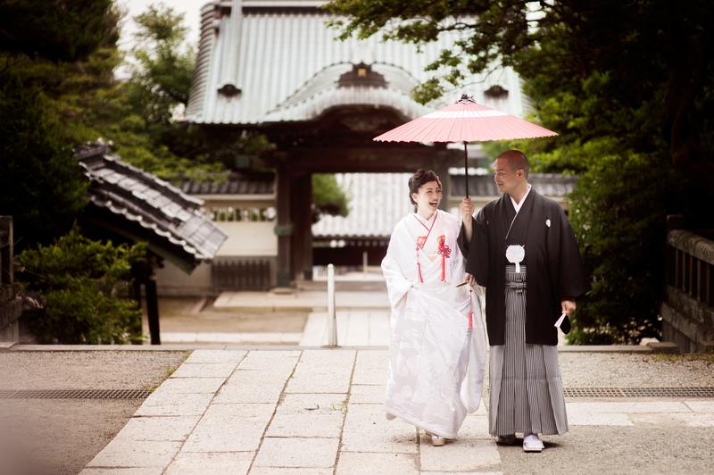 龍口寺×白無垢フォトプラン