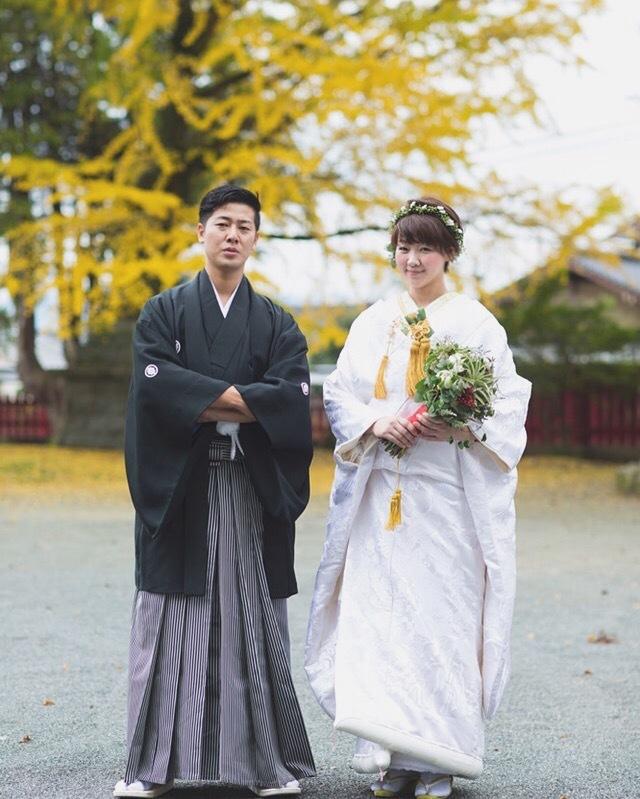 白無垢でお式をされた先輩花嫁さま