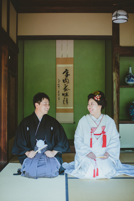 CUCURUフォトプランで撮影された和装花嫁さまをご紹介いたします(白無垢・綿帽子):白無垢コーディネート