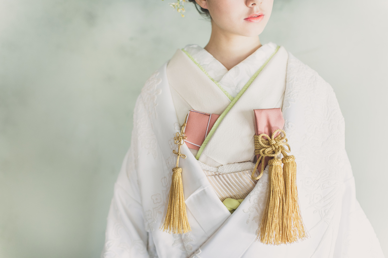 白無垢:相良刺繍アラベスク