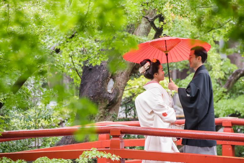 鶴岡八幡宮でお式をされた和装花嫁さまをご紹介いたします(白無垢・綿帽子):白無垢×ヘッドドレス