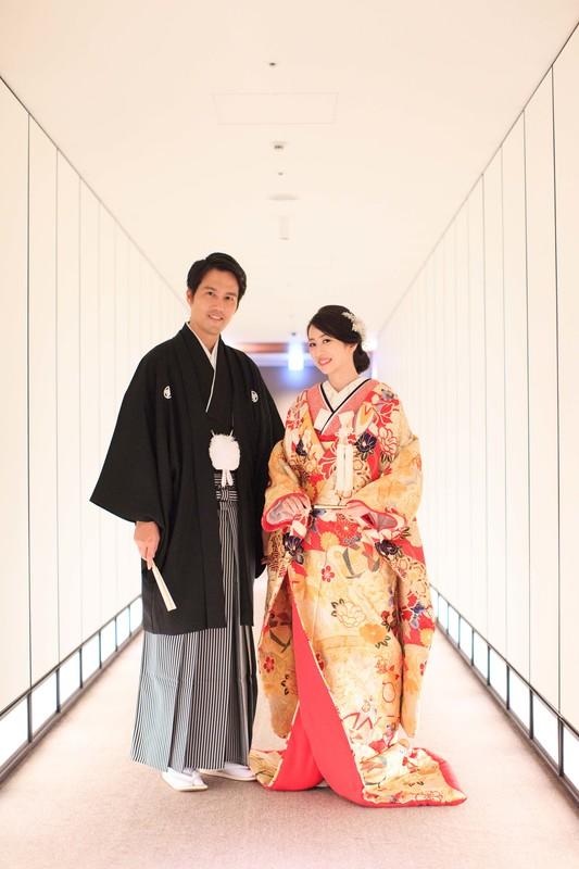 色打掛を着てアンダーズ東京でお式をされた先輩花嫁さま