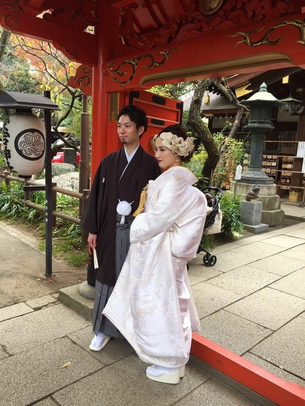 お式を挙げられた和装花嫁さまのコーディネートをご紹介いたします(白無垢)