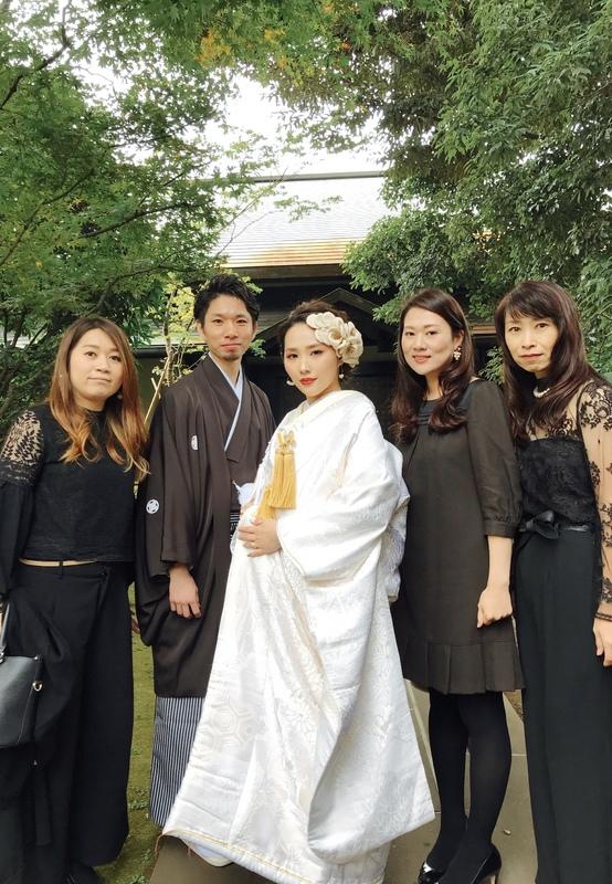 お式を挙げられた和装花嫁さまのコーディネートをご紹介いたします(白無垢):白無垢に大きいヘッドドレスのコーディネートが素敵です