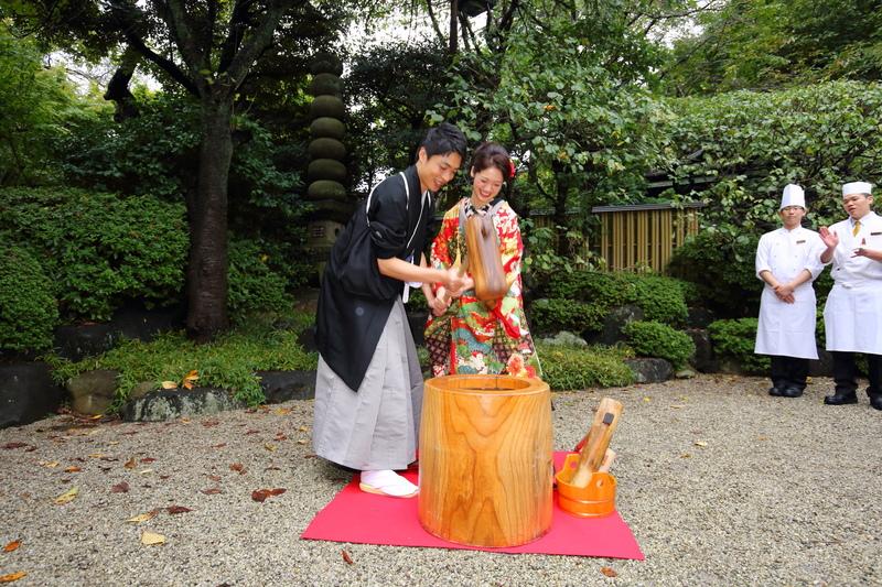八芳園でお式をされた和装花嫁さまをご紹介いたします(色打掛):色打掛コーディネート