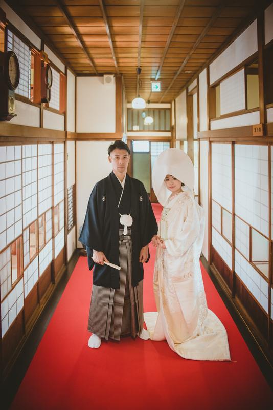 CUCURUフォトプランでロケーション撮影をされた和装花嫁さまのご紹介(白無垢・色打掛)