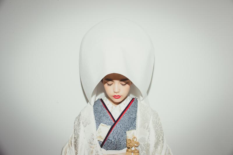 白無垢に綿帽子の王道スタイル