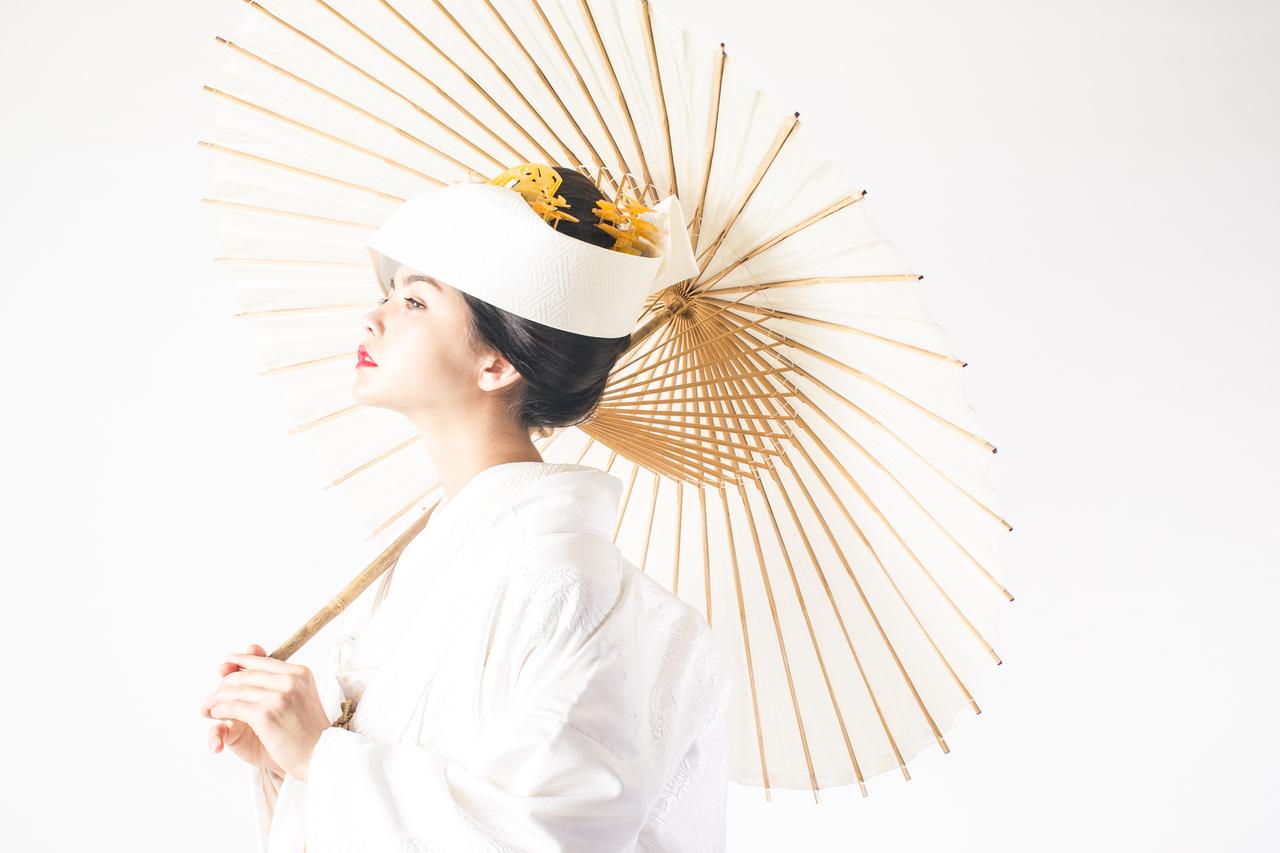 善王寺織熨斗草花に鶴